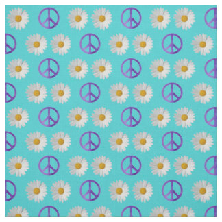 Daisies of Peace Fabric