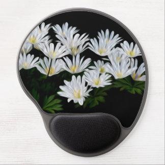 Daisies Oil Painting Gel Mousepad