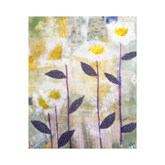 Daisies on Parade Canvas Print