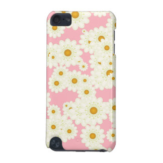 Daisies on pink iPod touch 5G case
