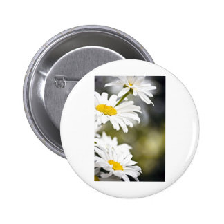 Daisies on the Side 6 Cm Round Badge