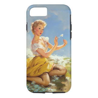 Daisies Pinup iPhone 8/7 Case