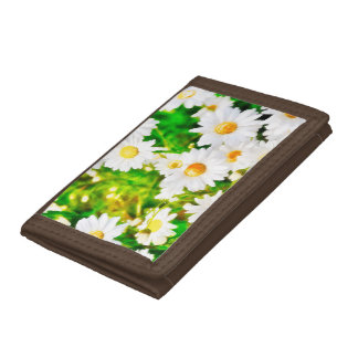 Daisies Tri-fold Wallets