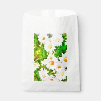 Daisies Watercolor Favour Bag