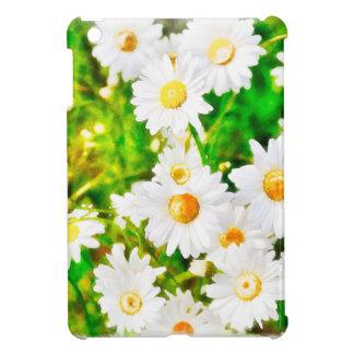 Daisies Watercolor iPad Mini Cover