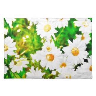 Daisies Watercolor Placemat