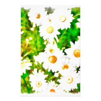 Daisies Watercolor Stationery
