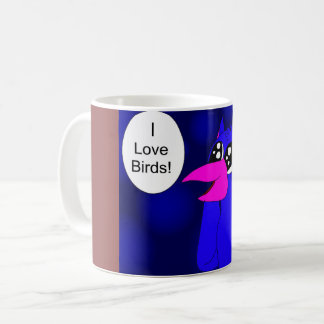 Daisuke Love Birds Coffee Mug