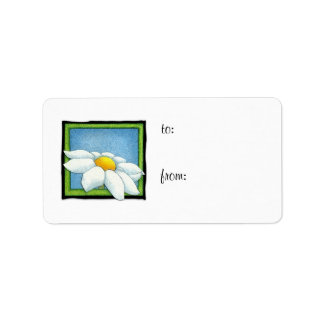 Daisy 2 Gift Tag Label Address Label