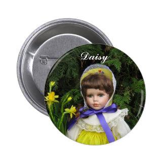 Daisy 6 Cm Round Badge