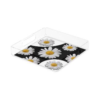 Daisy Acrylic Tray