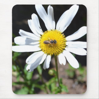 Daisy and Bee Mouse Pad