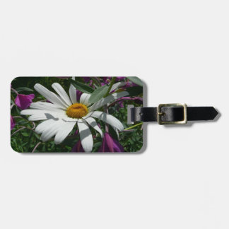 Daisy and Fireweed Luggage Tag