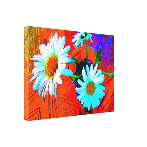 Daisy Art Gallery Wrapped Canvas