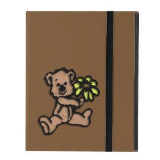 Daisy Bear Design Brown iPad Case