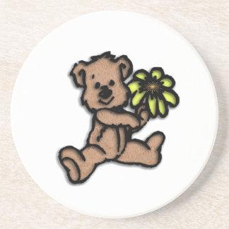 Daisy Bear Design Drink Coasters