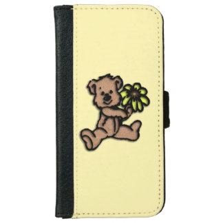 Daisy Bear Design iPhone 6 Wallet Case
