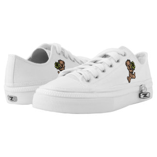 Daisy Bear Personalized Low Tops