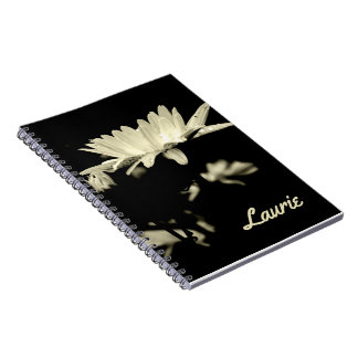 Daisy - Black and White Notebook