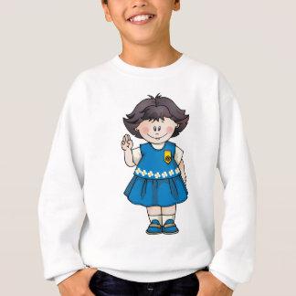 Daisy Black Hair Sweatshirt