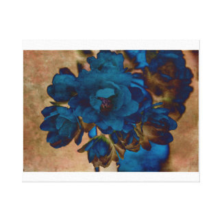Daisy Blue Gallery Wrap Canvas
