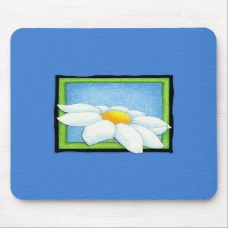Daisy blue Mousepad