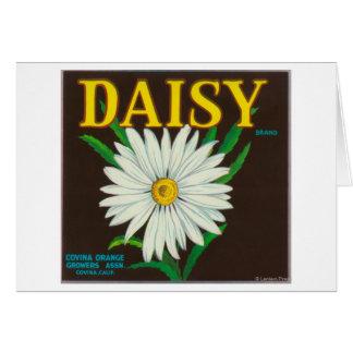 Daisy Brand Citrus Crate Label Card