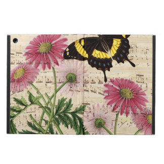 Daisy Butterfly Music Cover For iPad Air