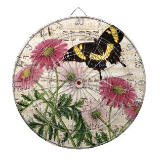 daisy Butterfly Music Dartboard