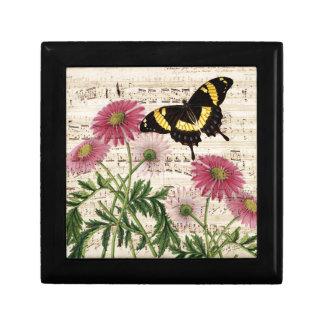 daisy Butterfly Music Gift Box