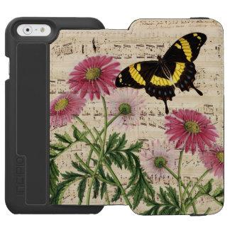 Daisy Butterfly Music Incipio Watson™ iPhone 6 Wallet Case