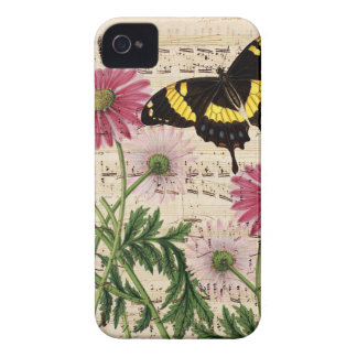 daisy Butterfly Music iPhone 4 Case-Mate Case