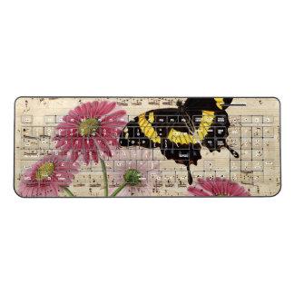 Daisy Butterfly Music Wireless Keyboard