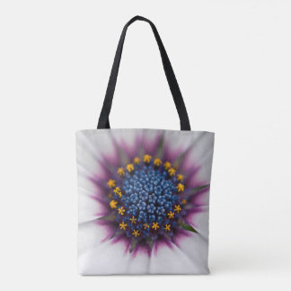 daisy center tote bag