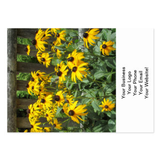 Daisy Cluster Weathered Fence Business Cards