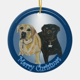 Daisy & Cocoa Christmas Ornament
