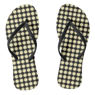 Daisy-Crazy_Vintage(C)Black-Cream-II_Multi-Styles Thongs