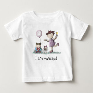 Daisy Cupcake Wedding! Baby T-Shirt