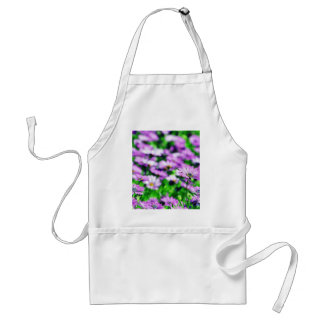 Daisy Daisies Flowers Purple Apron