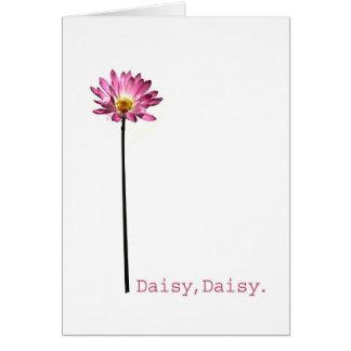 Daisy,Daisy Greeting Card