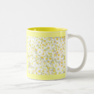 Daisy Daisy Two-Tone Coffee Mug