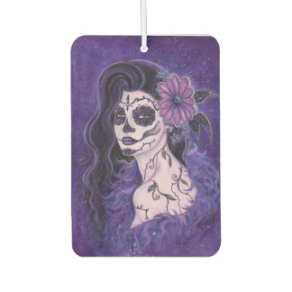 Daisy day of the dead air freshener by Renee