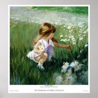 Daisy Days Print