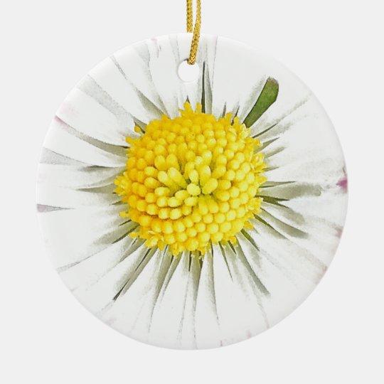 Daisy Dble-sided Ornament