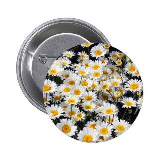 Daisy Delight 6 Cm Round Badge