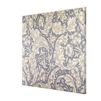 'Daisy' design (textile) Stretched Canvas Prints