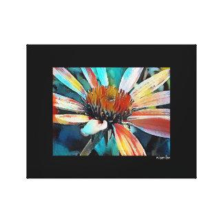 Daisy Digital Art Wrapped Canvas