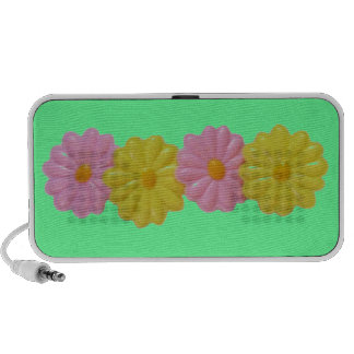 Daisy Doodle - Green Travel Speakers
