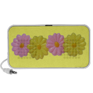 Daisy Doodle - Sunshine Yellow iPhone Speaker