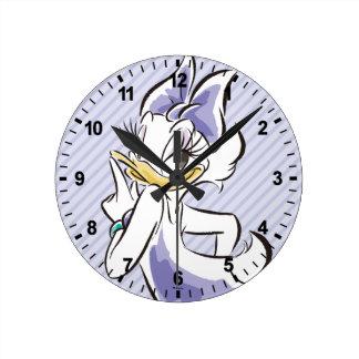 Daisy Duck | Sweet Like Sugar Round Clock